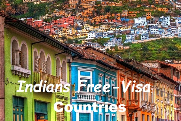 List of Visa Free Countries for Indians