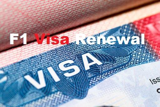 F1 Visa Renewal