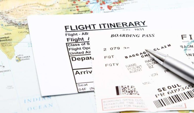 Flight Itinerary for Visa Application Guide for Beginner