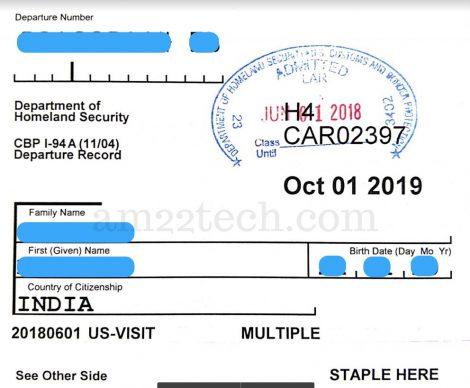 Understanding Form I-94 Expiration Date