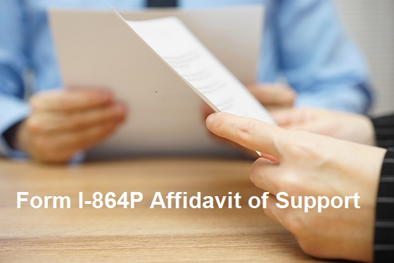 Things You Should Know before Completing the Form I-864P